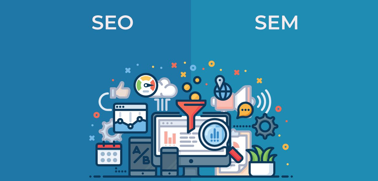 SEO vs SEM: How they work together in online marketing